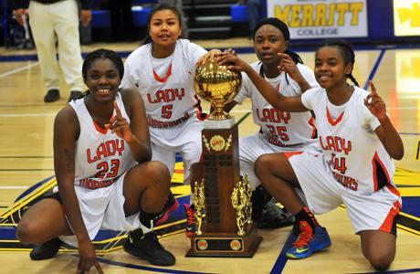 McClymonds High School Girls Basketball Team 2013
