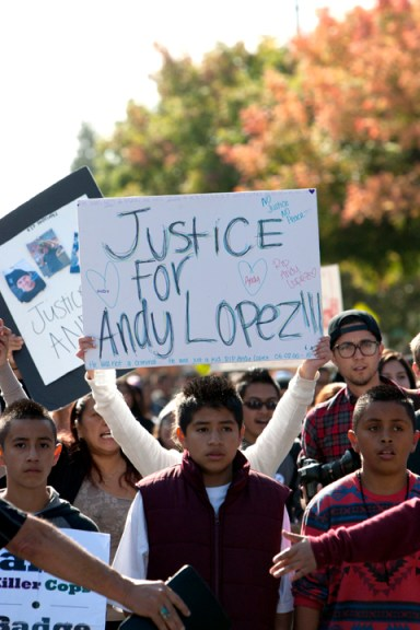 The Assassination of Andy Lopez
