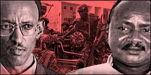 Kagame-Museveni graphic