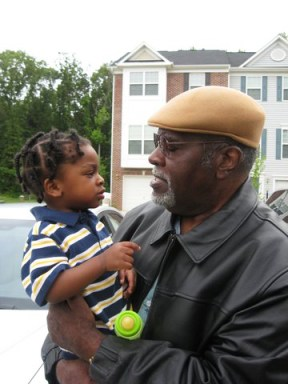 Big Man Howard and his grandson, Amin, web