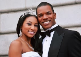 Cinderella (Kimille Stingily), Prince Charming (Dedrick Weathersby) African-American Shakespeare Co. 1213