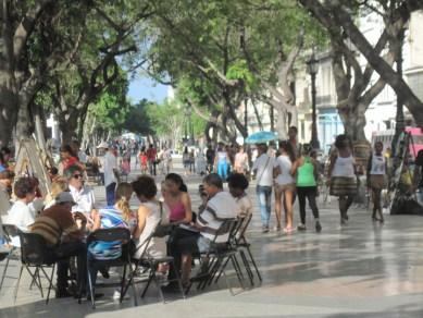 Richmond Regla Cuba Tour street scene Prado (Paseo de Marti), Havana 1213 courtesy Marilyn Langlois, web