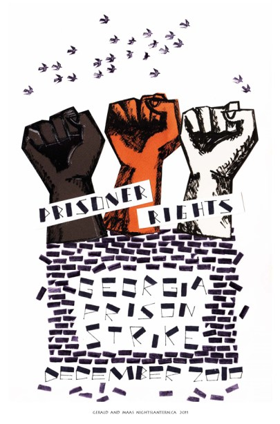 Georgia Prison Strike 1210 logo, web