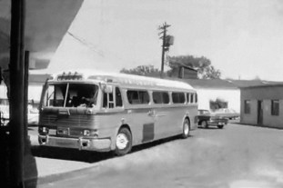 Freedom Riders' bus