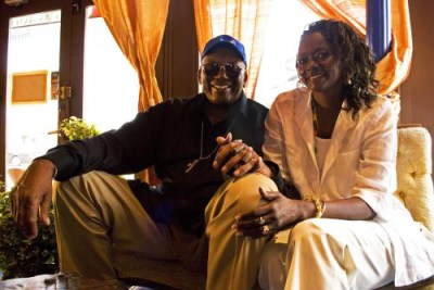 Randy Weston, wife Fatoumata Mbengue