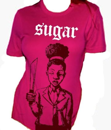 'Sugar' T-shirt by Eesuu
