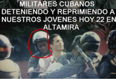Venezuelan tweet Black (Cuban) 'attack on our youth'