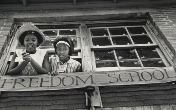 In 1964, youth from across the country poured into Mississippi to create, with local youth, Freedom Schools to build the movement for voting rights and other fundamental freedoms – and some gave their lives. Mississippian James Chaney and New Yorkers Andrew Goodman and Michael Schwerner were only 21, 20 and 24 years old when they were murdered, placing Mississippi racism in banner headlines around the world. – Photo: Ken Thompson, United Methodist Board of Global Ministries