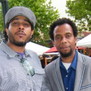 Kali O'Ray of SFBFF, David Roach of OIFF, cropped web