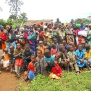 This is one group among the hundreds of thousands of Rwandan refugees still in the eastern Democratic Republic of the Congo, in October 2014. The FDLR militia say they are armed to protect the refugees, including their own families. Rwandan refugees have been massacred by the Rwandan army when it crossed the border into eastern Congo.