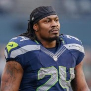 Marshawn Lynch by Otto Greule Jr., cropped