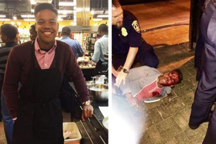 Martese Johnson, before and after the beating