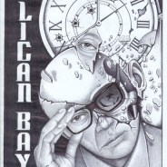 """Pelican Bay SHU Half Living, Half Dying"" – Art: Michael D. Russell, C-90473, PBSP SHU D7-217, P.O. Box 7500, Crescent City CA 95532"