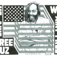 """Mumia: He Ain't Free Cuz We Ain't Free"" – Art: Kevin ""Rashid"" Johnson, 1859887, Clements Unit, 9601 Spur 591, Amarillo TX 79107"