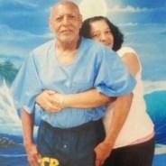 Hugo 'Yogi' Pinell, daughter Allegra Taylor hugging him New Folsom 080215, web cropped