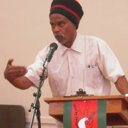 Dedon Kamathi speaks at HP Boycott Campaign 'From Ferguson to Mexico to Palestine' Community Forum 060615, cropped