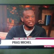 "Pras Michel discusses his film, ""Sweet Micky for President,"" on Good Day LA."