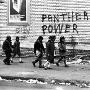 Joe Debro wrote this report in 1968, two years after the October 1966 founding of the Black Panther Party and probably around the time this picture was taken in Oakland.