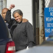 Free at last! Albert Woodfox, last of the world famous Angola 3 to be released, leaves prison Feb. 19, escorted by his brother, Michael Mable.