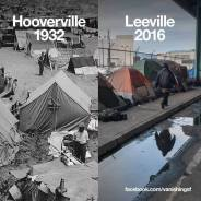 Residents of Leeville could be living in these very livable but boarded up and vacant apartments built with our tax dollars. – Graphic: Dan Brekke, VanishingSF