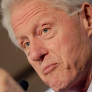 Bill Clinton lectures Black Lives Matter protesters at a rally for his wife Hillary in Philadelphia on April 7. – Photo: Dennis Van Tine, Star Max-AP