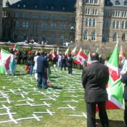 The 1972 Burundian Hutu Genocide was commemorated on the state capitol grounds in Toronto, Ontario, Canada, on April 30, 2016.