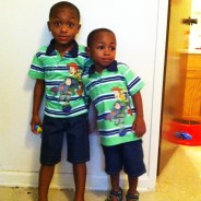 Christopher and Nicholas Hinkins are great-grandsons of Bay View Publisher Dr. Willie Ratcliff. They are twins, 7 years old. Nicholas, better known as Nicky-Poo, suffers from sickle cell, which has slowed his growth, yet he is full of life and love. The twins are inseparable.