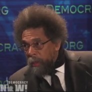 "On Democracy Now! July 18, Cornel West explains ""why I endorse the Green Party's Jill Stein over 'neoliberal disaster' Hillary Clinton."""