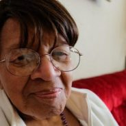 Iris Canada loves her home at 670 Page St., where she has lived since the 1950s, when her neighborhood was part of the renowned Fillmore, Harlem of the West. Once nearly all Black, it has been gentrified and is now nearly all white. – Photo: Sydney Johnson, KGO-TV