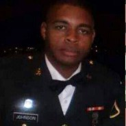 According to the website Heavy, this photo of Micah X. Johnson was posted to Facebook by his sister.
