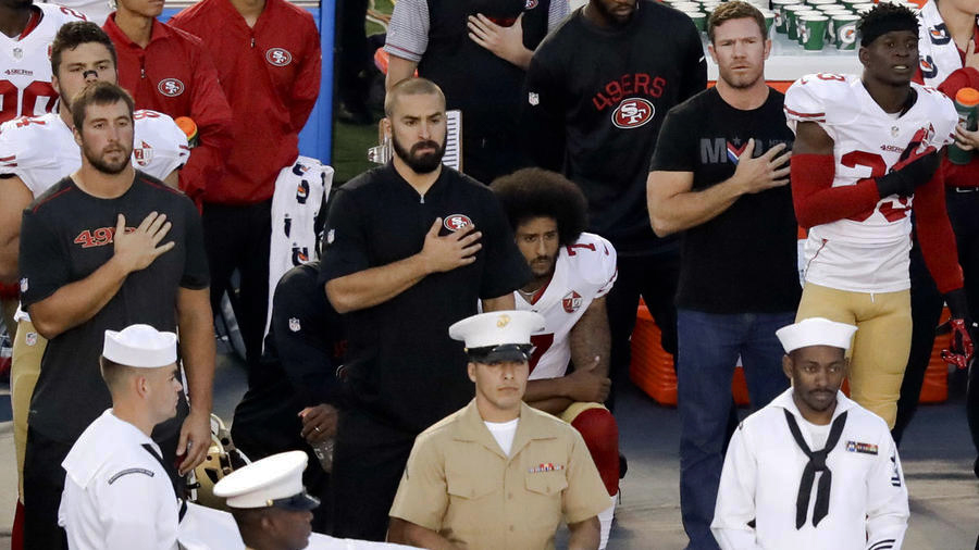 Police union threatens boycott of 49ers games over Colin Kaepernick protest