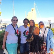 Some of the women who will be aboard the Women's Boat to Gaza are Ann Wright, LisaGay Hamilton, Norsham Binti Abubakra, Dr. Fauziah Hasan