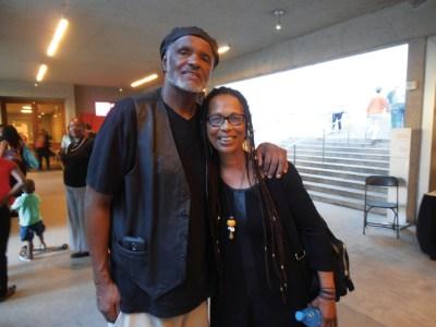 Cousins Dennis Pete and Tarika Lewis, first woman to join the BPP posed for Baba Jahahara. – Photo: Jahahara Alkebulan-Maat