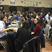 Guests dine while discussing racial inequality. – Photo: Meaghan M. Mitchell, Hoodline