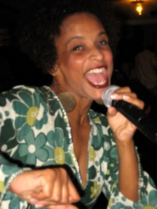 Ajuana Black performs at Soft Notes Jan. 16.  Photo: Wanda Sabir