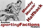 The Monday morning half back Banner Image