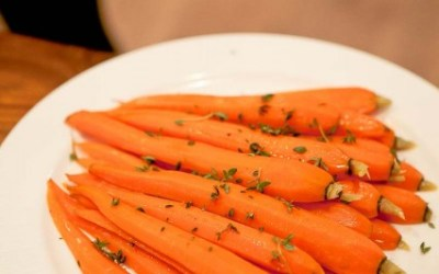 Beautifully and evenly cooked carrots