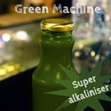 Organic, cold pressed Green Machine Juice 250ml