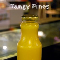 Organic, cold pressed Tangy Pine Juice 250ml