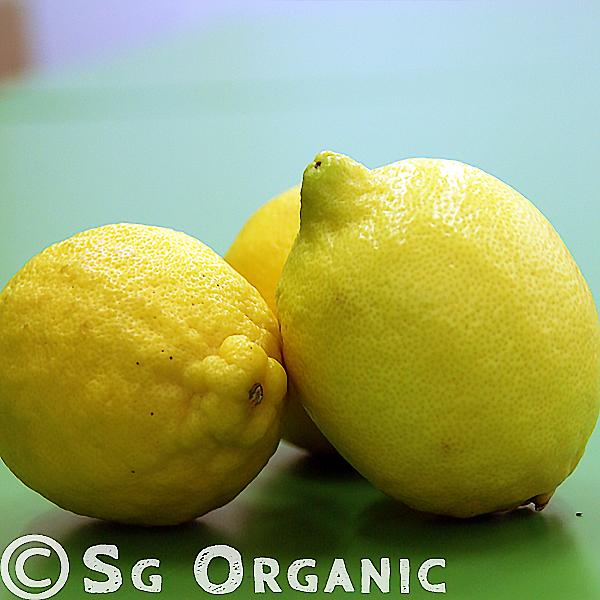 SG Organic lemon