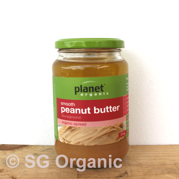 sg organic smooth peanut butter