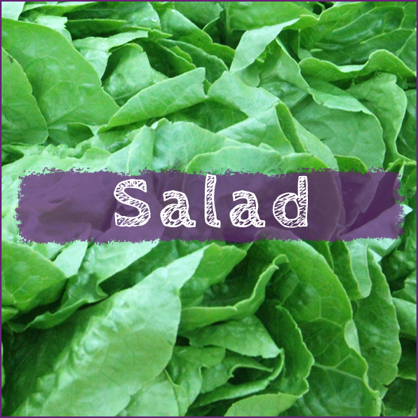Category - Certified Organic Salad items - lettuce, tomatoes, cucumbers and more