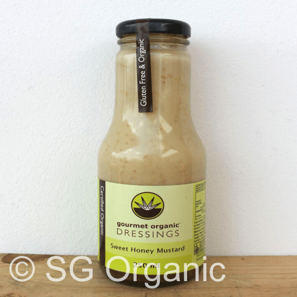 sg organic sweet honey mustard dressing