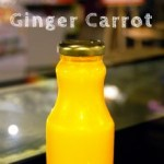 Organic, cold pressed Ginger Carrot Juice