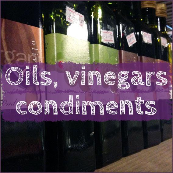Oils, Condiments &amp; Vinegars <span class='count'>(8)</span>
