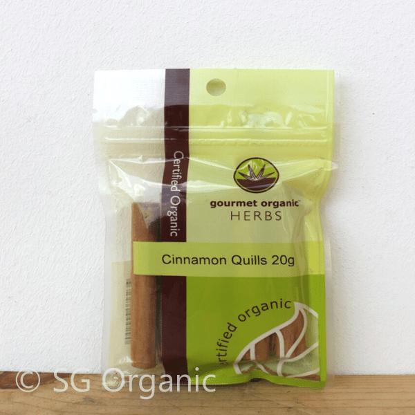 sg organic cinnamon quills herb