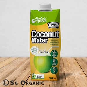absolute organic coconut water
