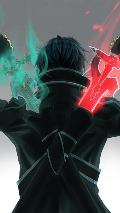 Sword Art Online iPhone Wallpaper - Supportive Guru