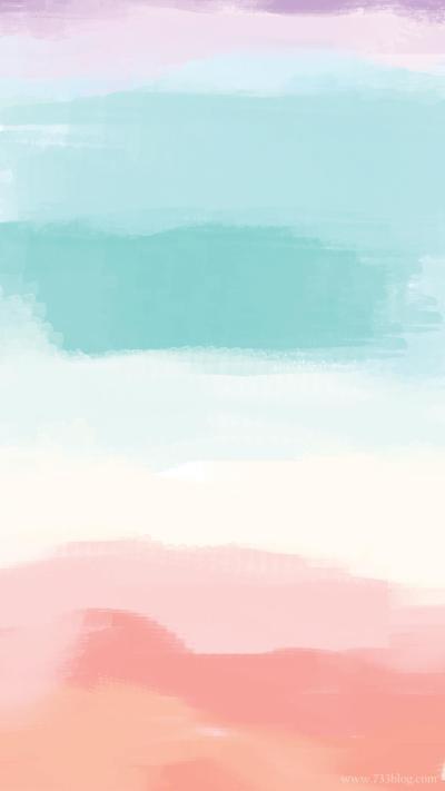 Watercolor iPhone Wallpaper - Supportive Guru