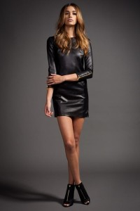 black-leather-dress